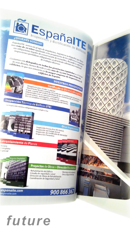 Standard brochures features in Future Magazine